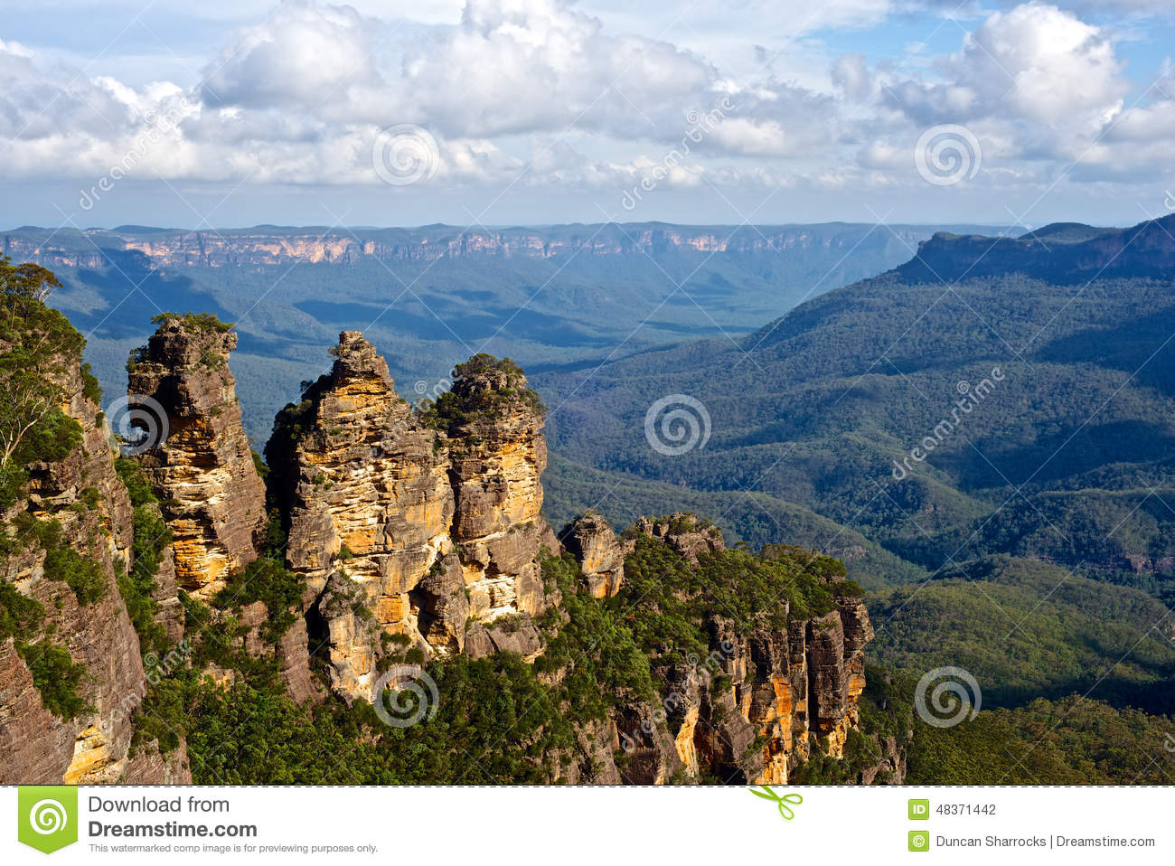 The Three Sisters, Blue Mountains, New South Wales, Australia