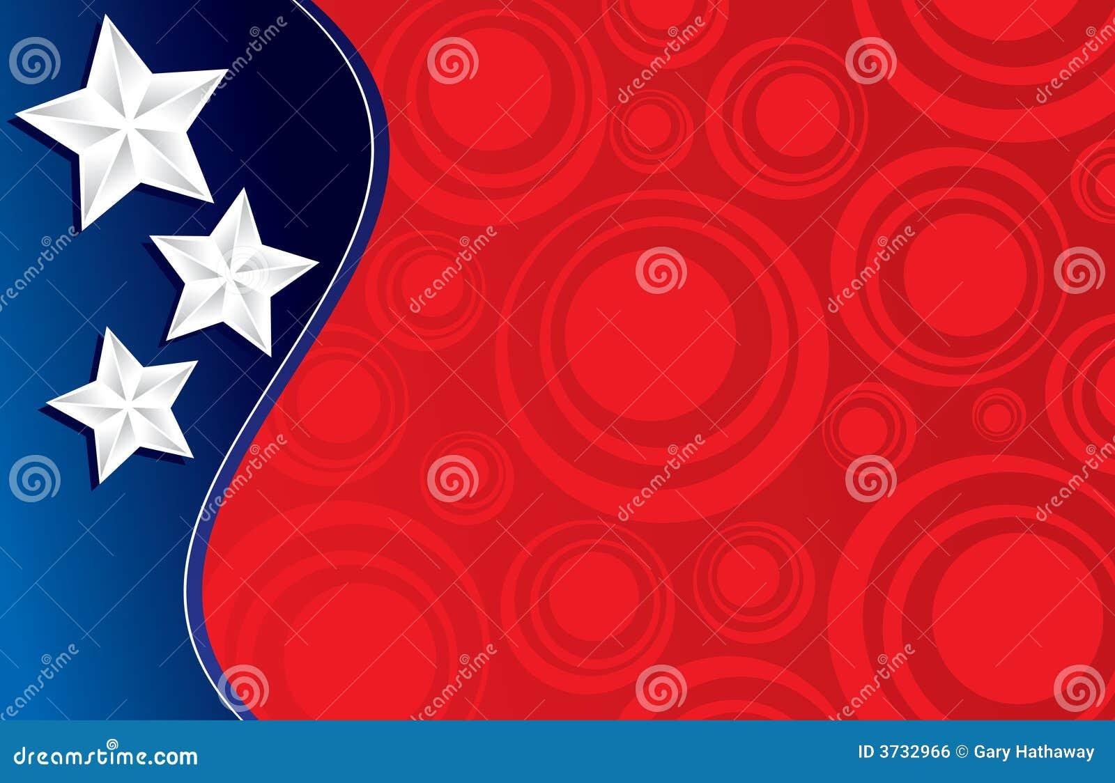 Three stars and circles