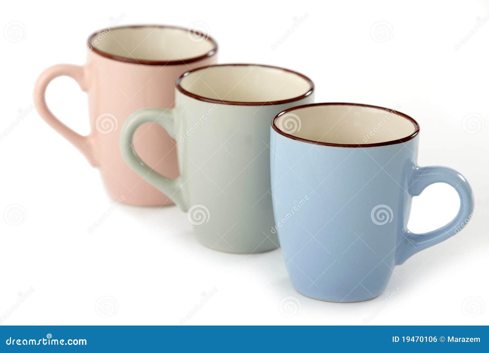 Three Tea Cups Royalty Free Stock Image Image 19470106
