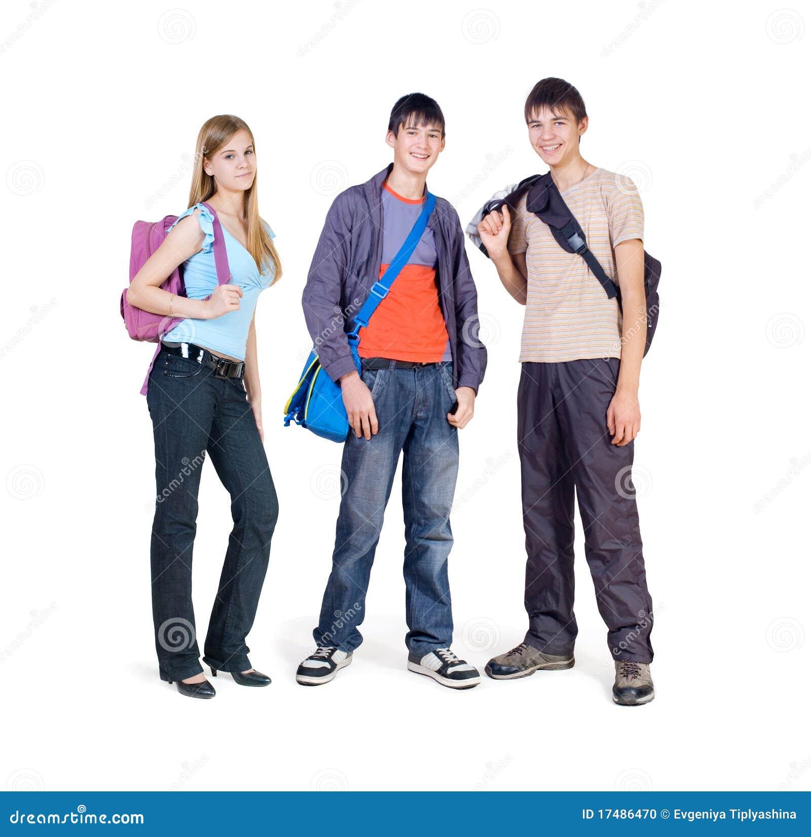 Free Three Teens 119