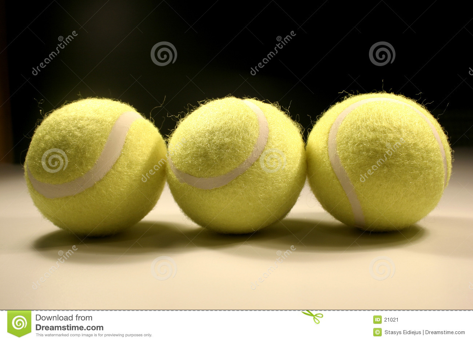 Three tennis-balls II