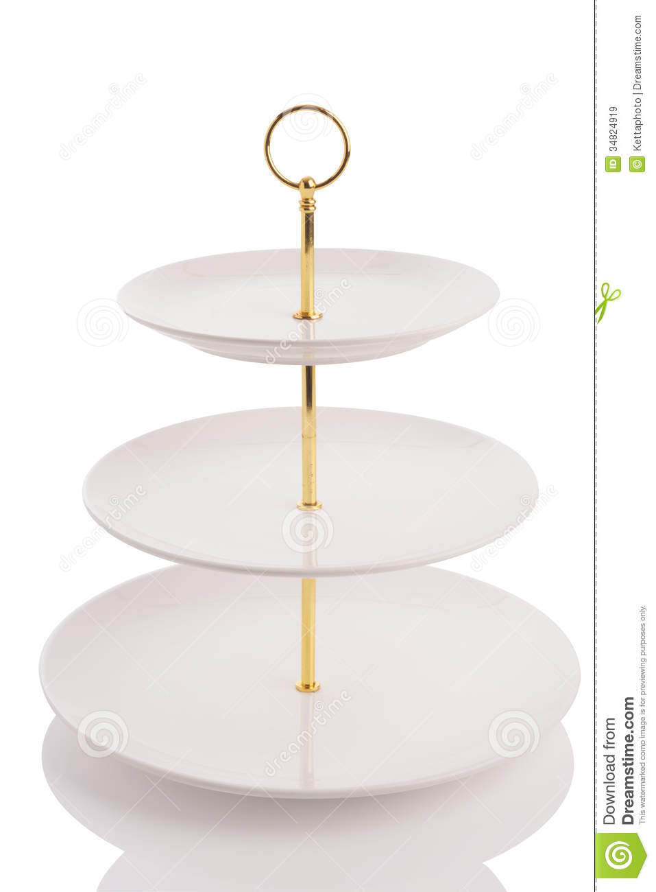 Three Tier Tray Royalty Free Stock Images Image 34824919