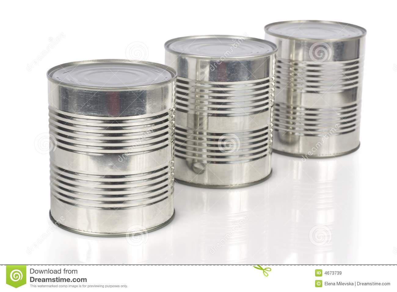Three Cans Food