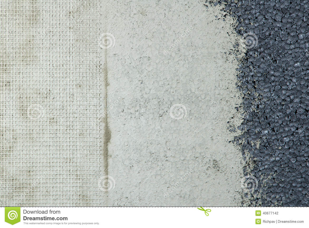 Three types wall texture stock photo image of gray Texture on walls types