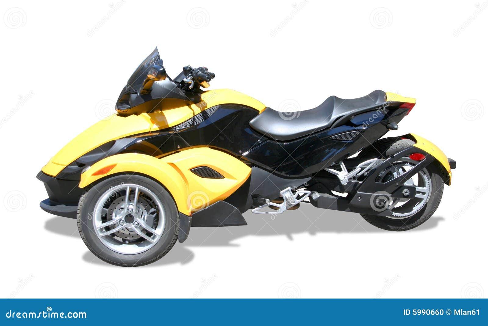 Three wheel motorcycle stock photo image 5990660 for Three wheel motor bike in india