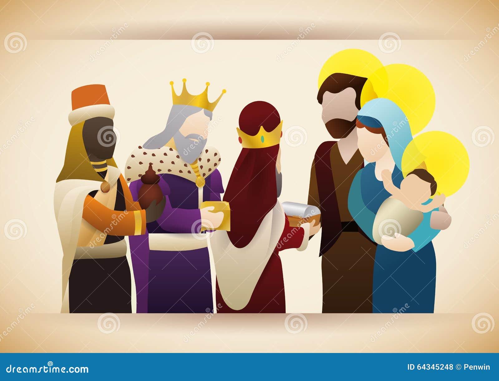 Jesus easter gift is eternal life Royalty Free Vector Image