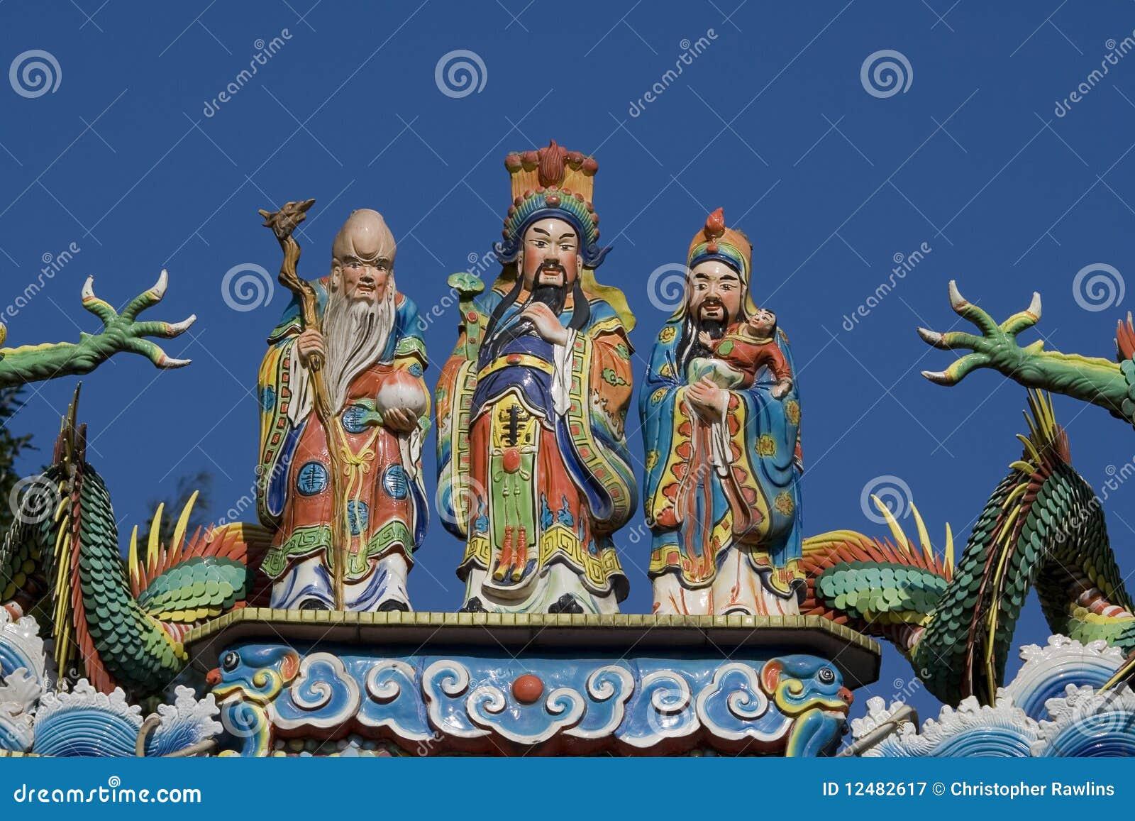 Three Wise Men on Temple