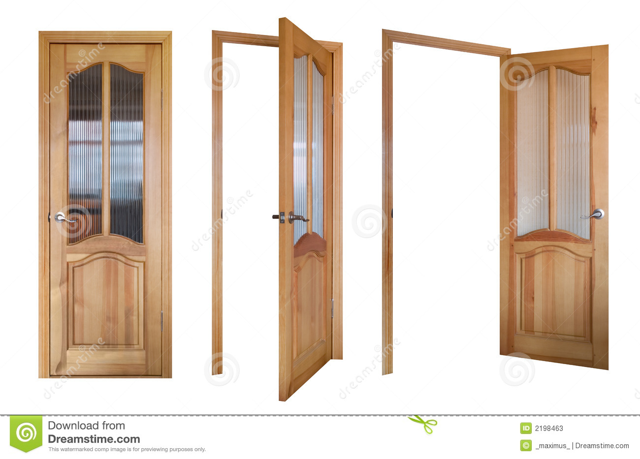933 #73492B Three Wooden And Glass Doors Stock Photos Image: 2198463 picture/photo Wood Glass Doors 41591300