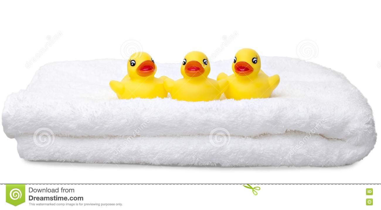 Rubber Ducks in a Row Three Yellow Rubber Ducks in a Rubber Ducky Tattoo