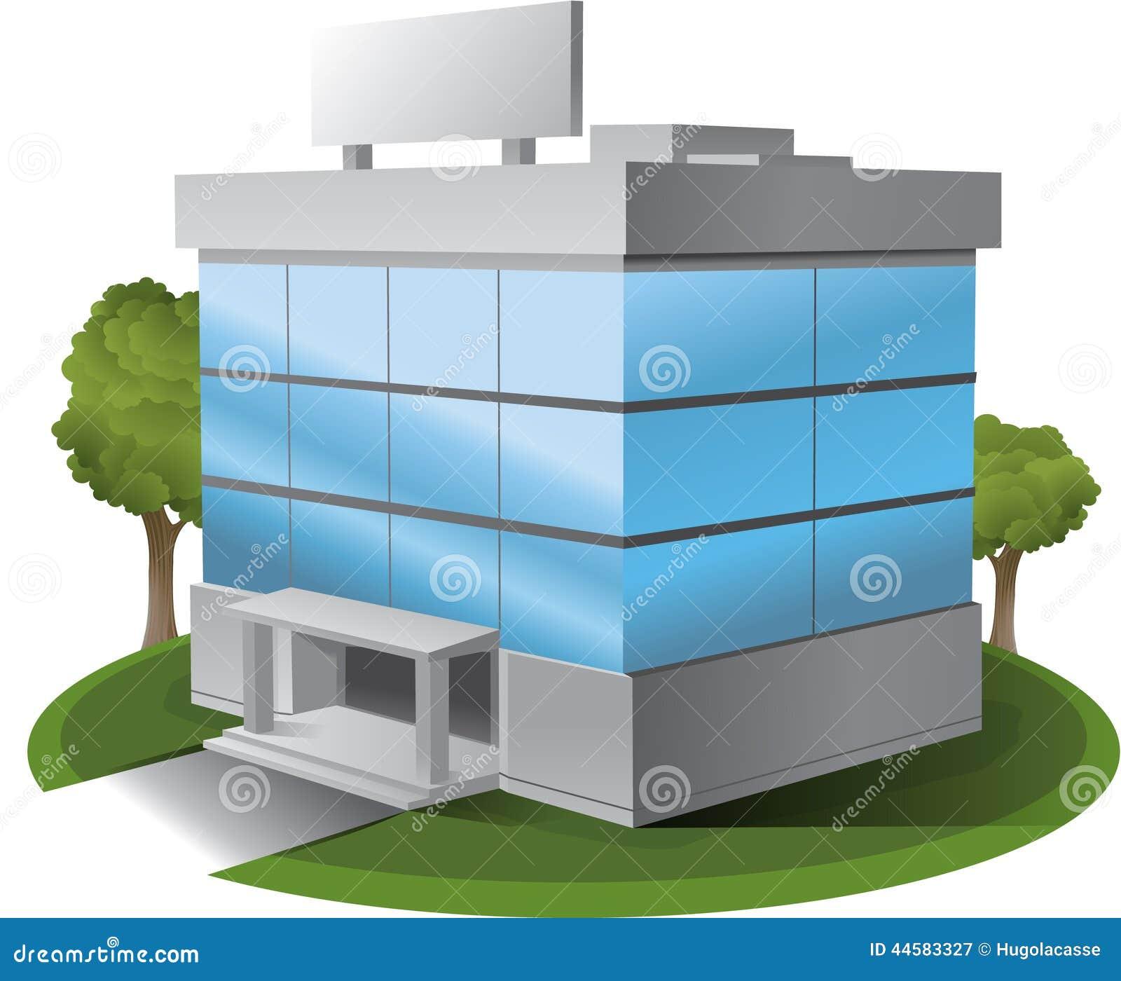 3D Vector office build...