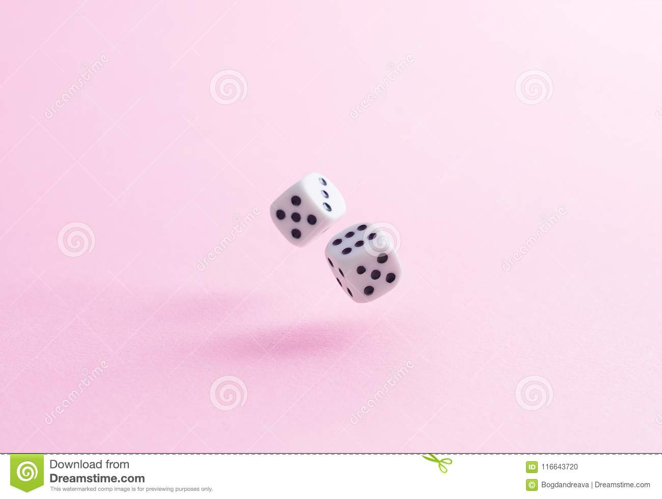 Throw A Dice.Throw The Dice Stock Photo Image Of Cube Play Still