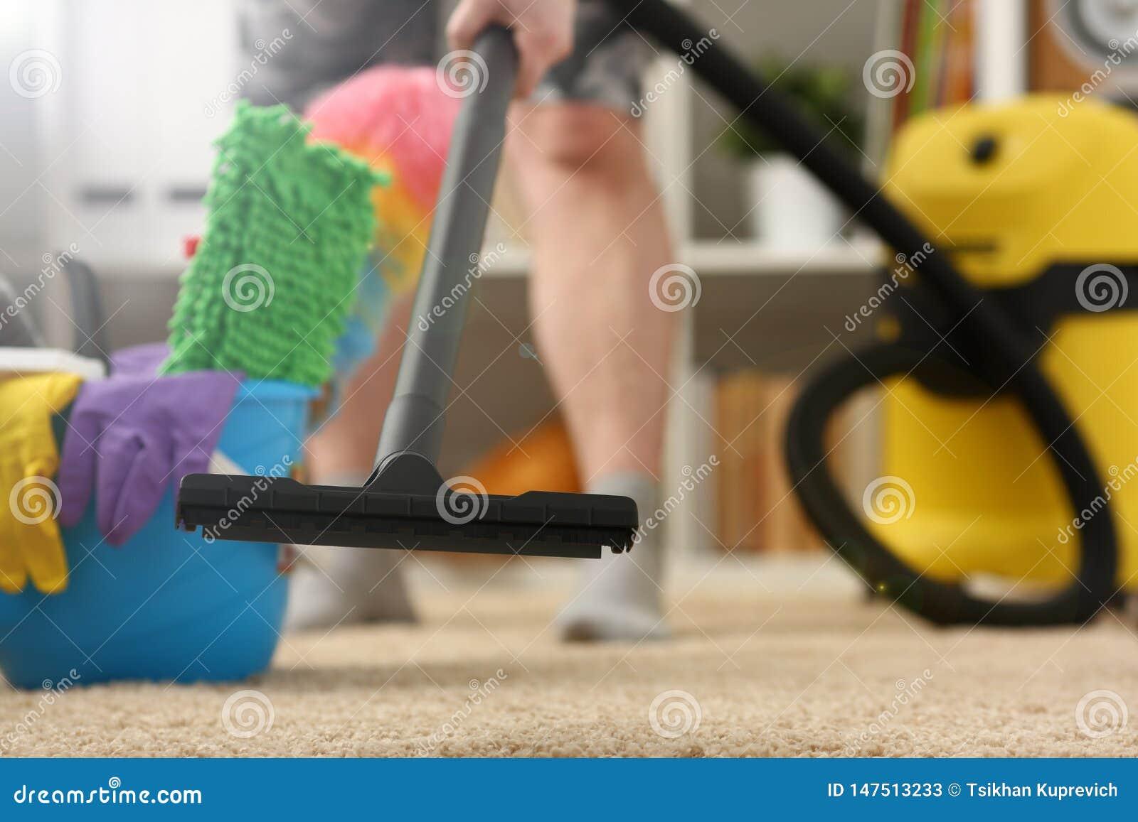 Thuiszorg voor tapijtvacu?m cleane