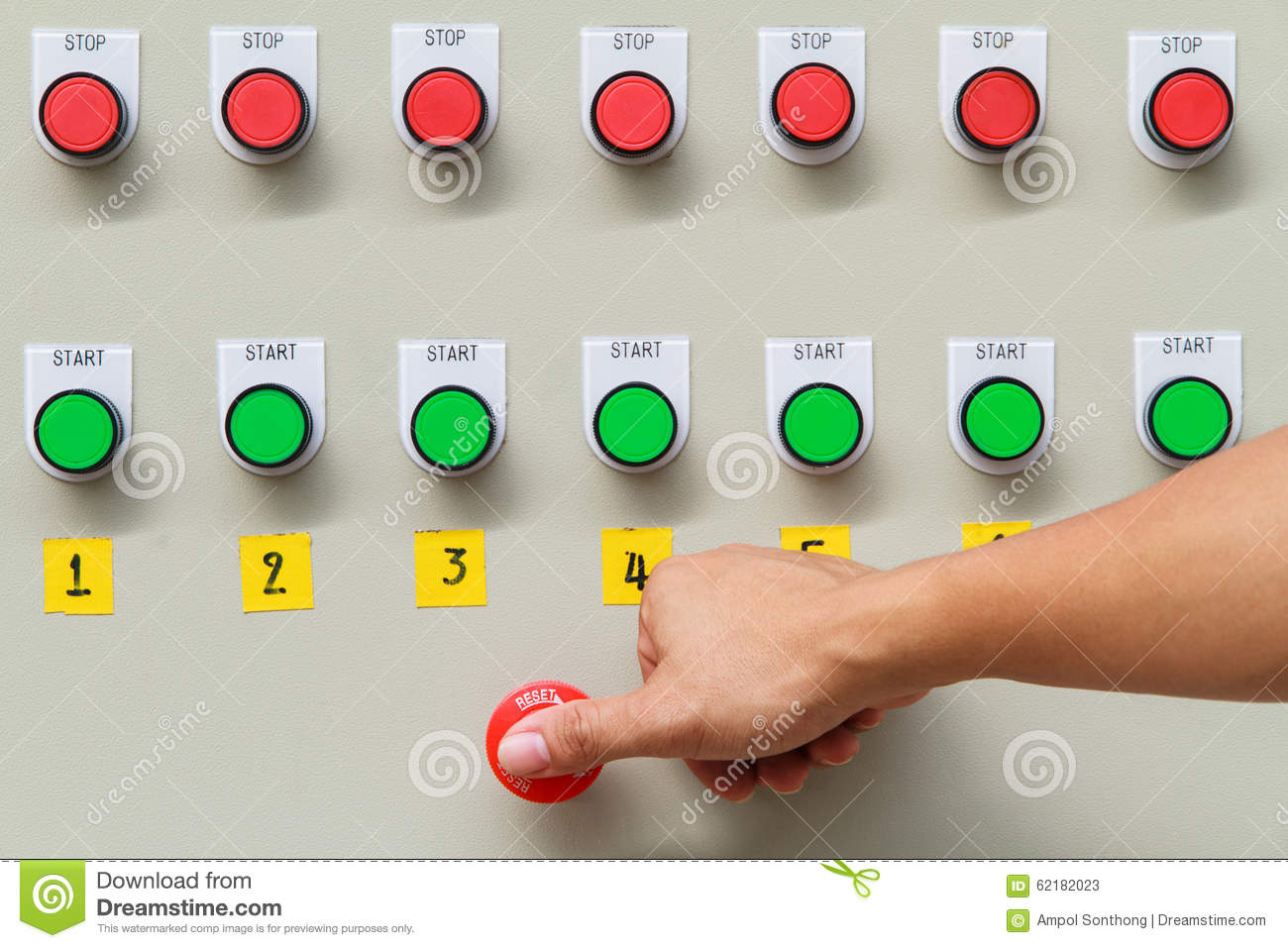 Emergency stop icon clipart emergency off - Button Control Emergency