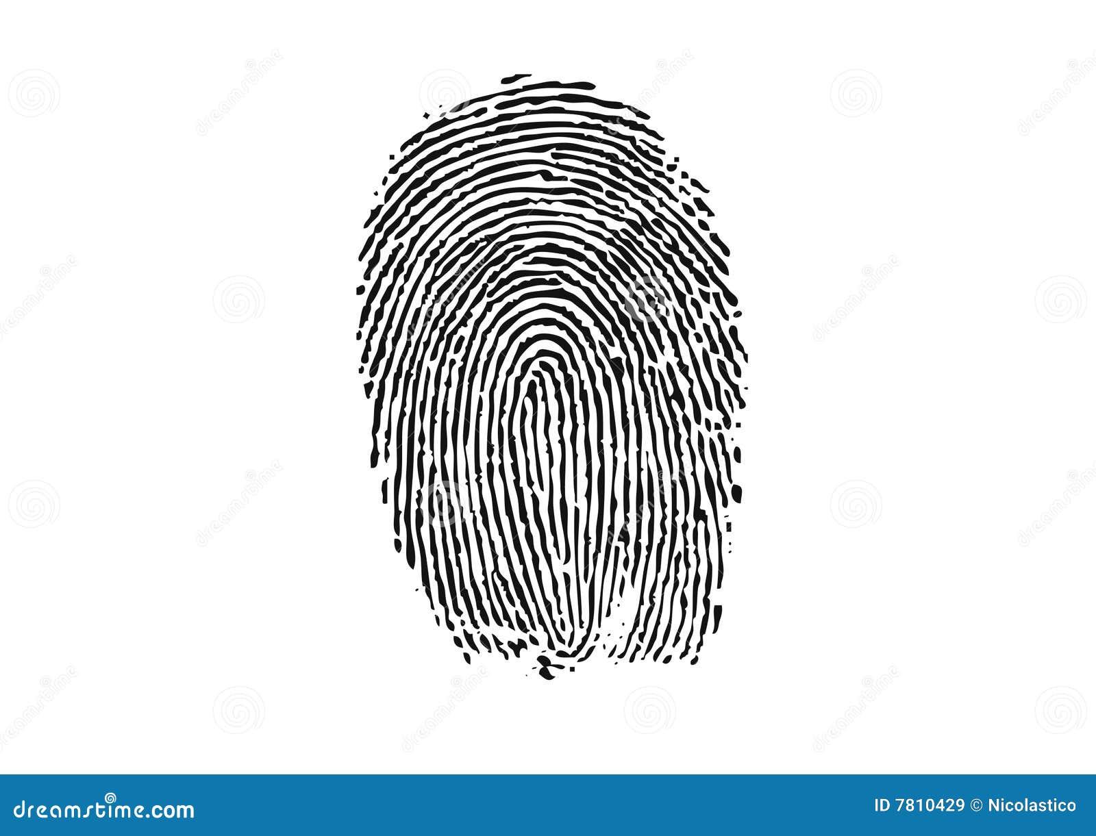 thumbprint stock vector illustration of closeup information 7810429