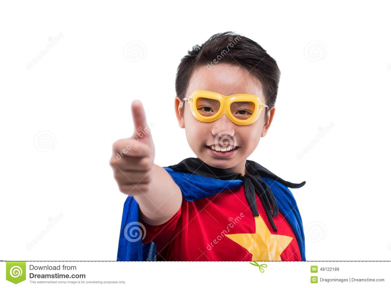 Superman thumbs up question removed