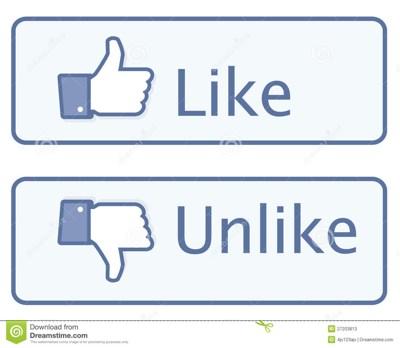 Thumbs up Like Icon Editorial Facebook Like Icons
