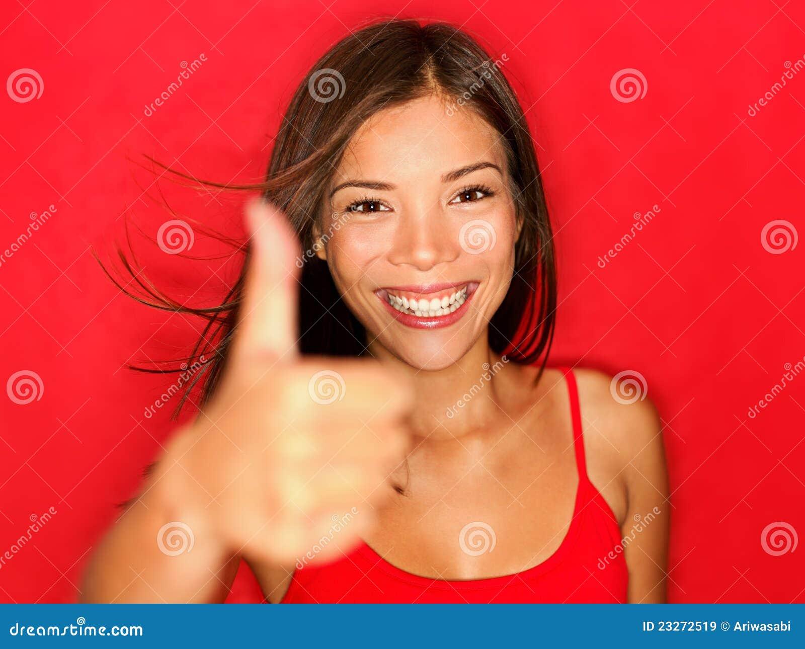 girl thumbs Natural