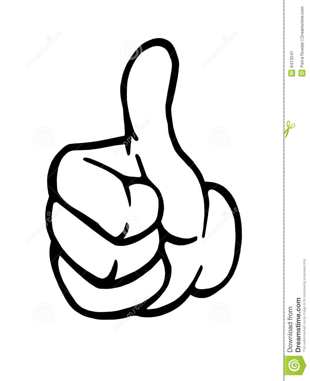 thumbs up sign stock vector. illustration of success, over - 8413541