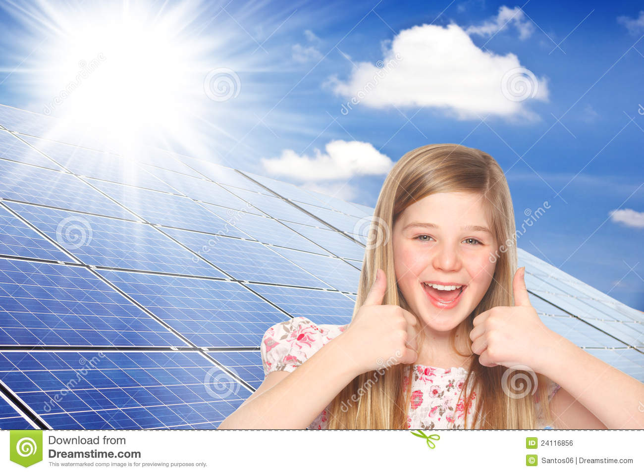Thumbs up for solar power