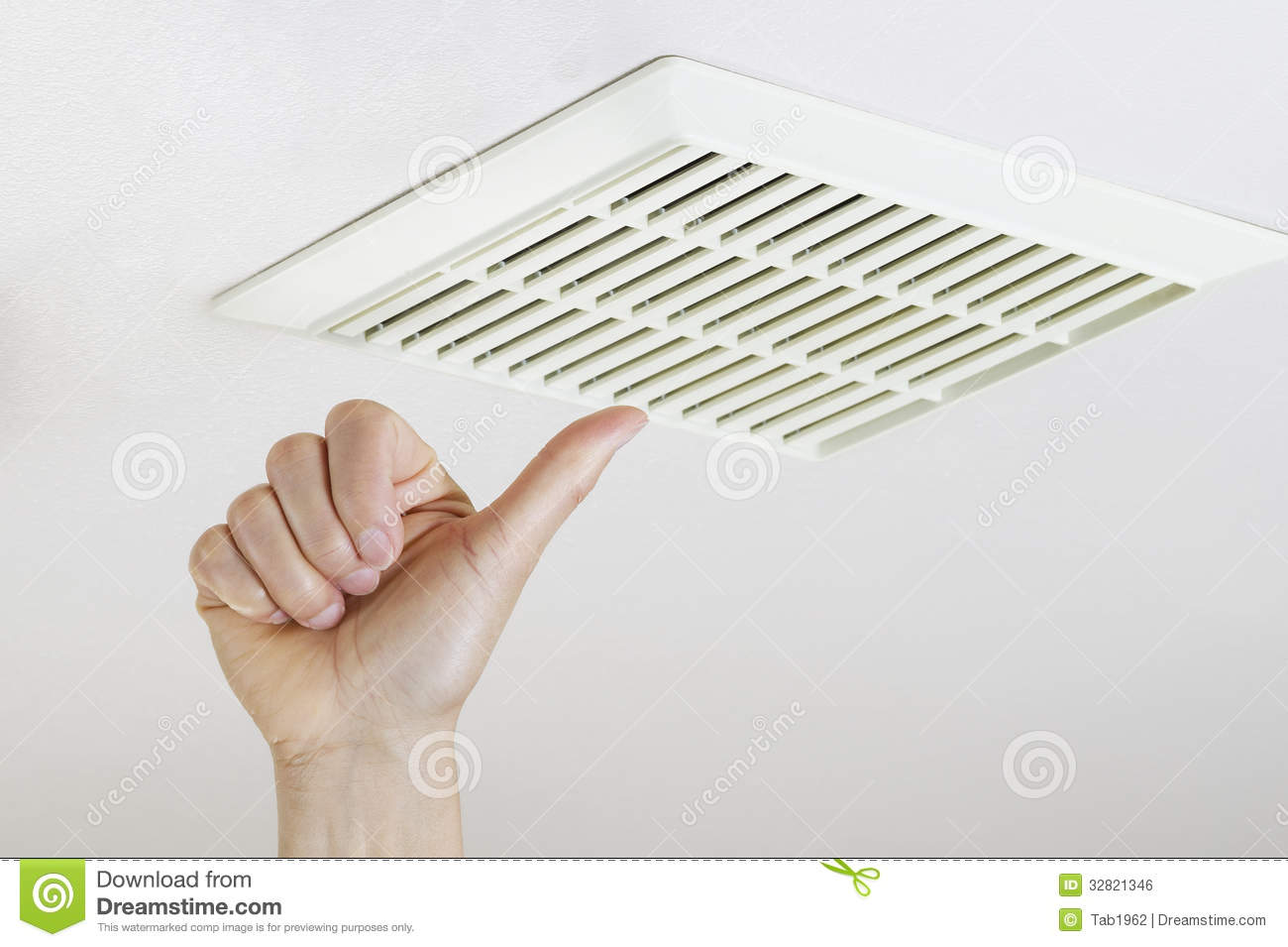 Thumbs Up After Successfully Cleaning And Installing Fan Vent Stock - Cleaning bathroom vent fan