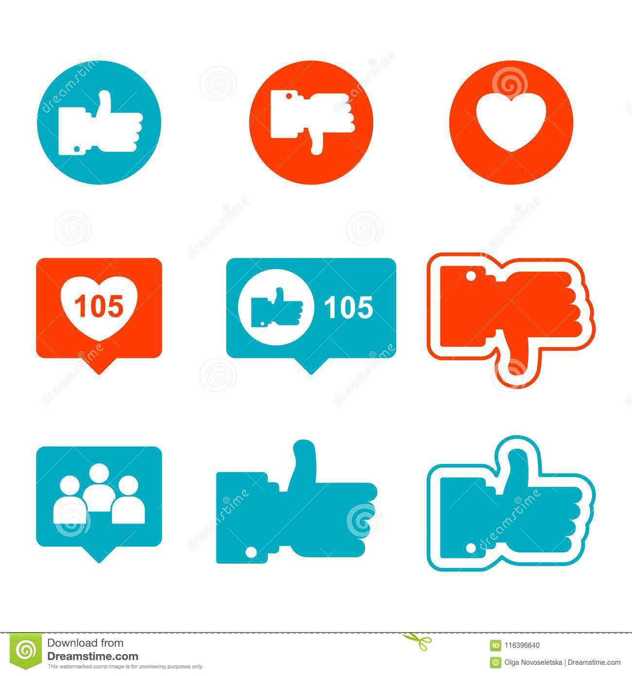 Thumbs Up Vector Sign Stock Vector Illustration Of Communication