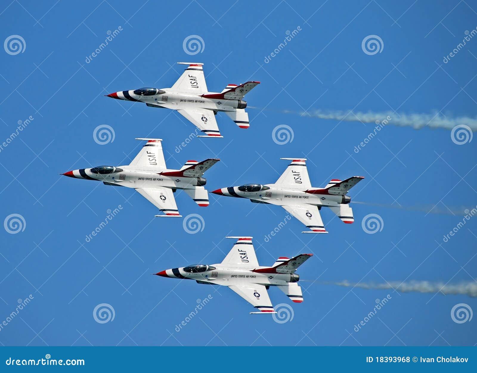 Thunderbirds da força aérea de E.U.