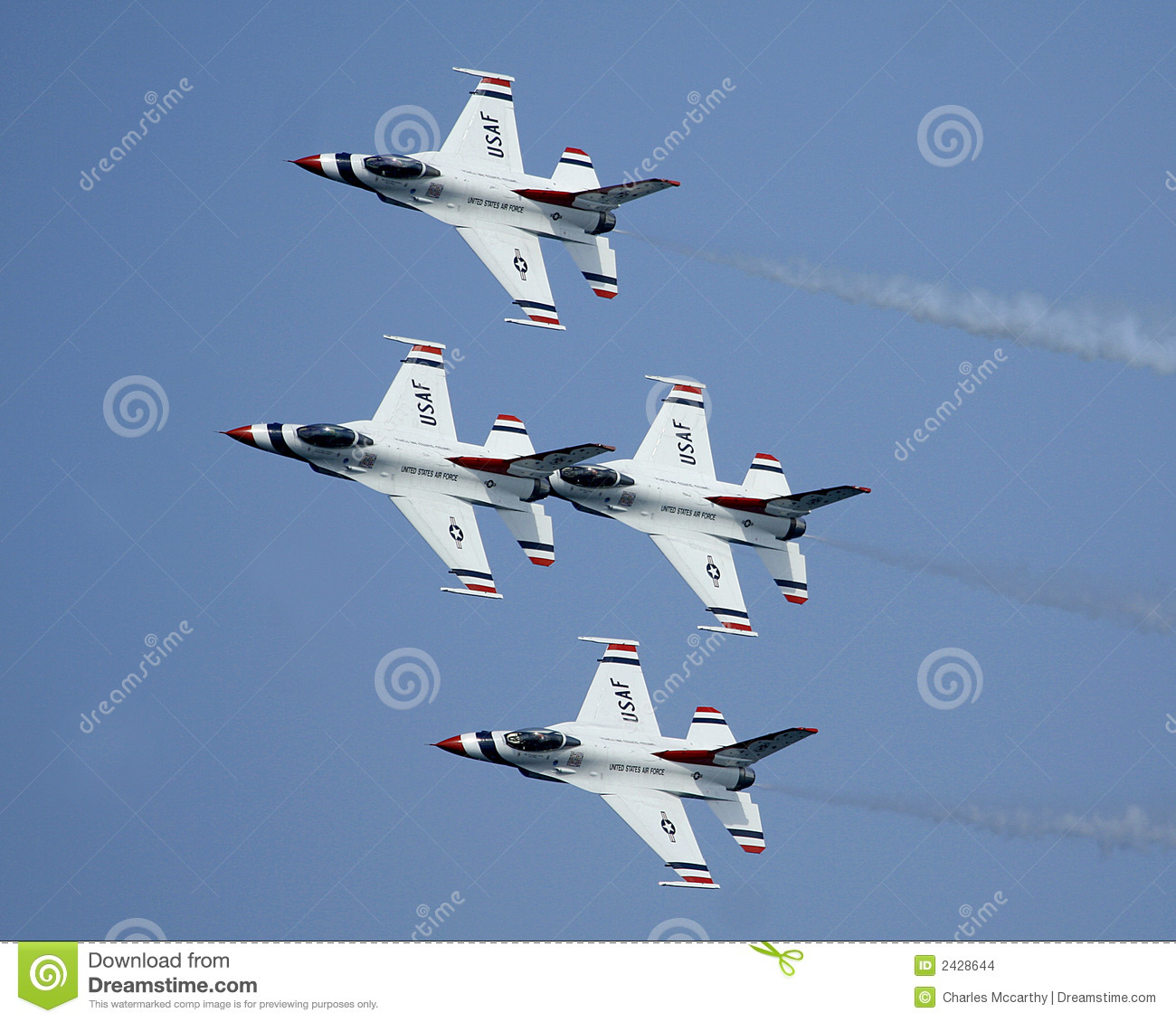 Thunderbirds do U.S.A.F.