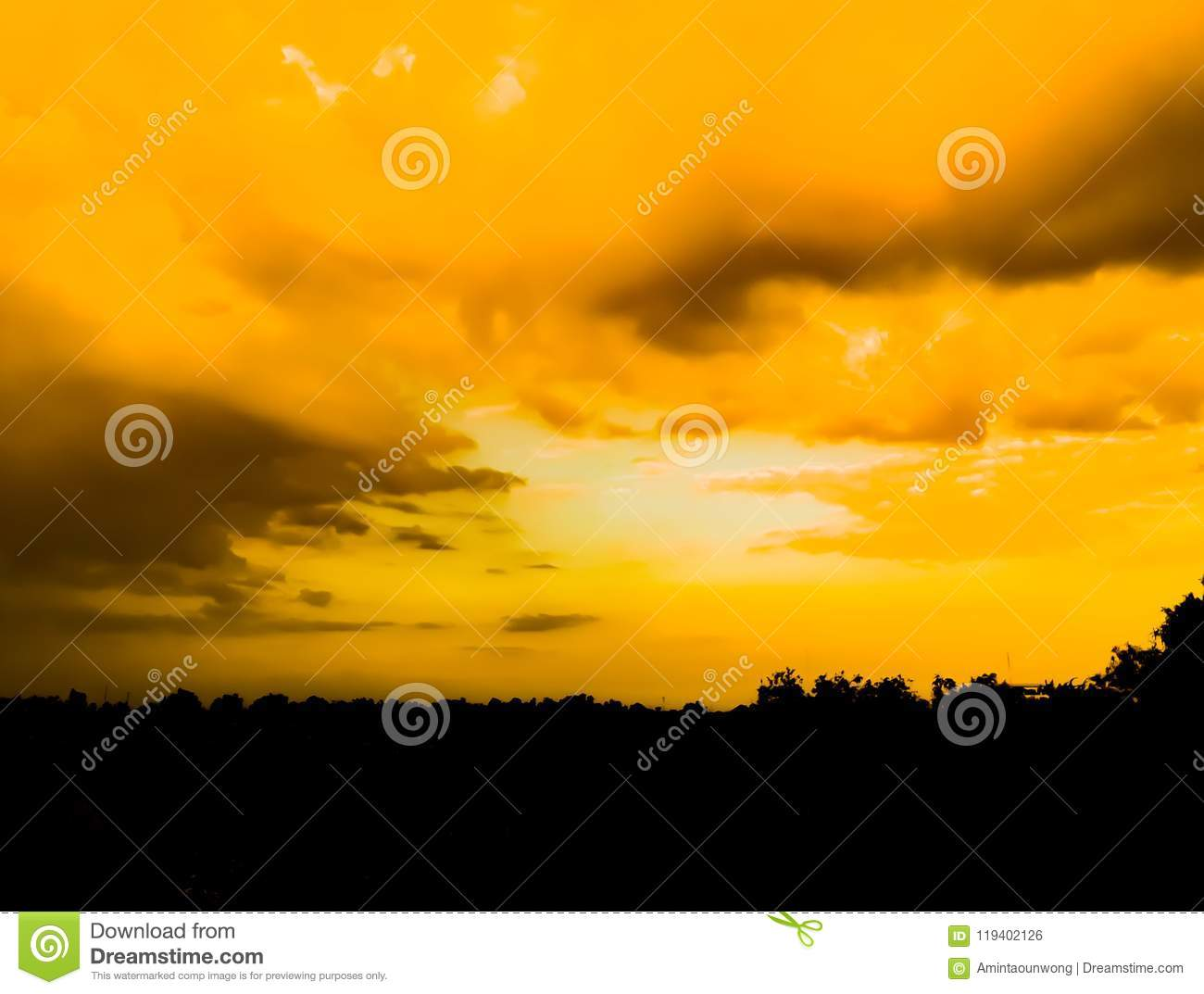 Sunrise And Sunset Mountain View Stock Photo Image Of Outdoor