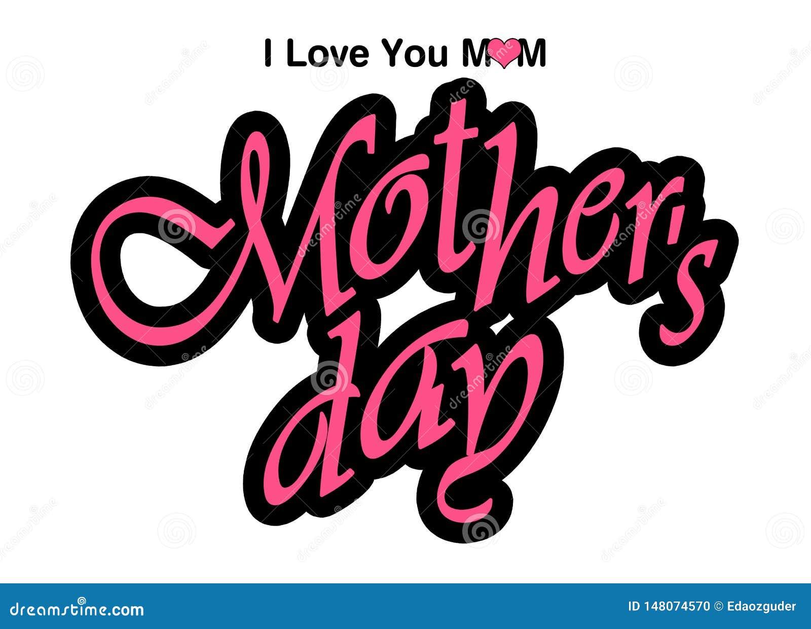 ?ti amo mamma ?, grafici di giorno di madri