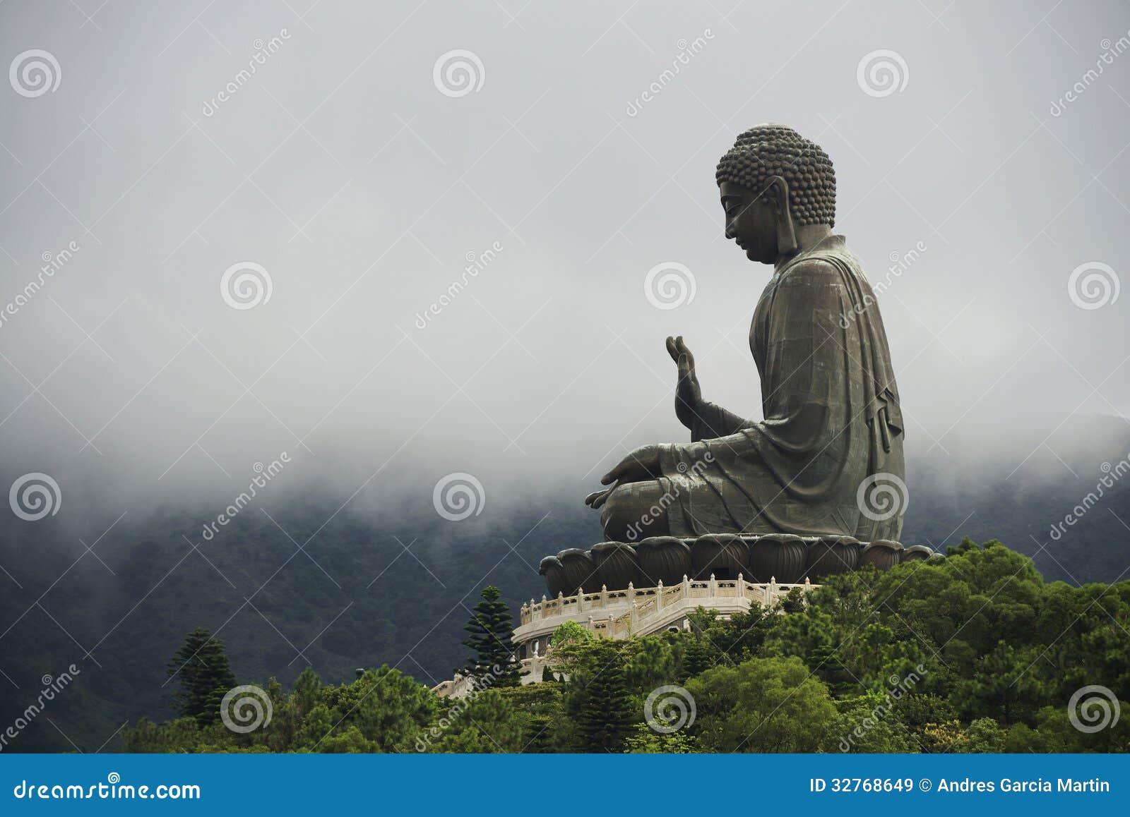 Tian Tan Buddha, île de Lantau, Hong Kong