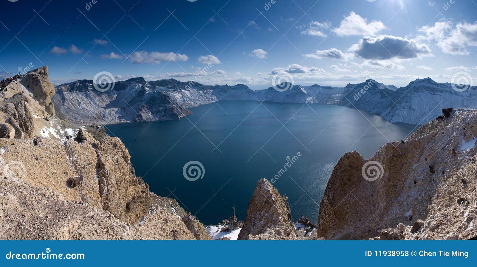 Tianchi Lake in the Changbai Mountain