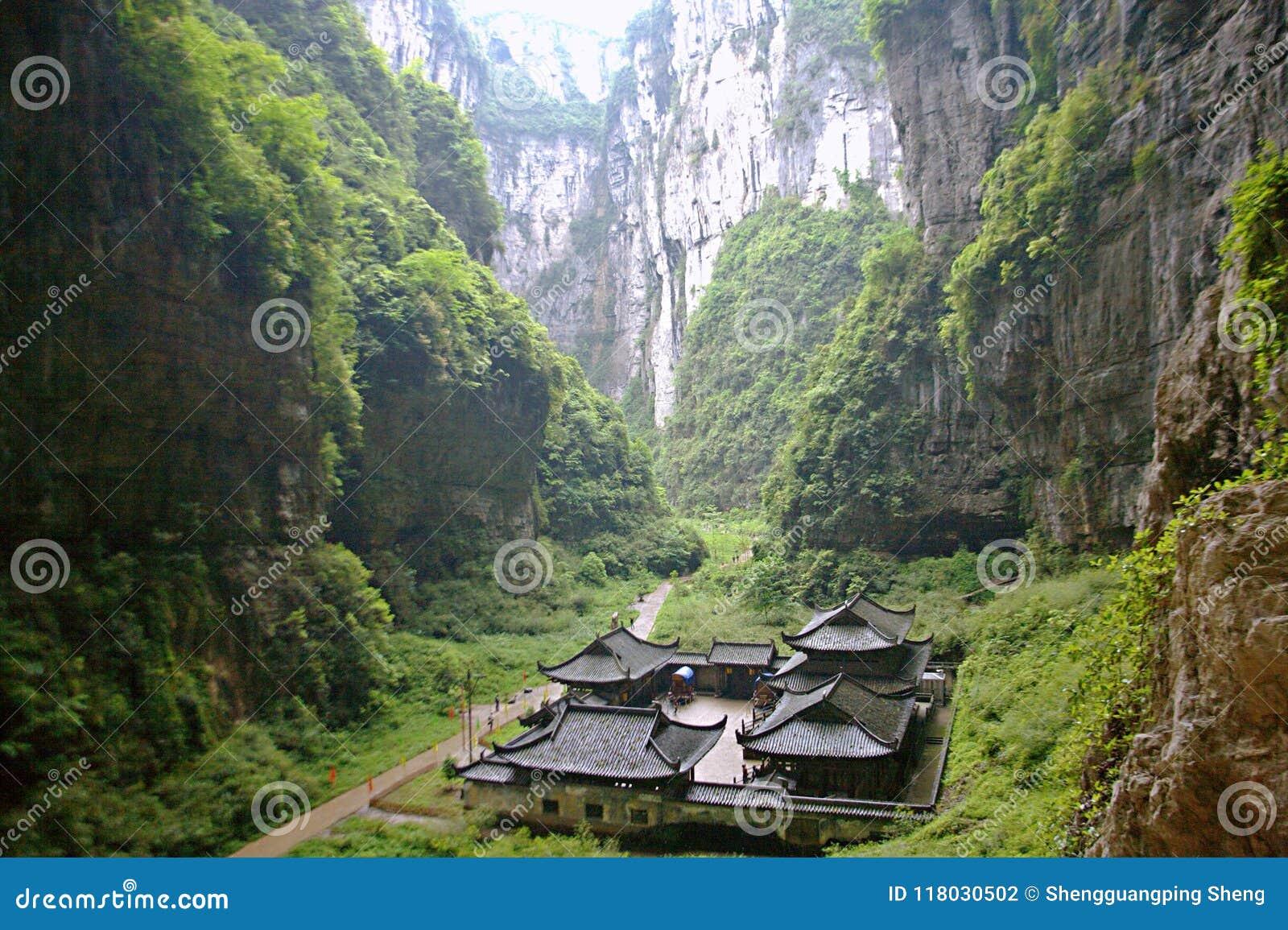 Tiansheng tre bro i Wulong, Chongqing
