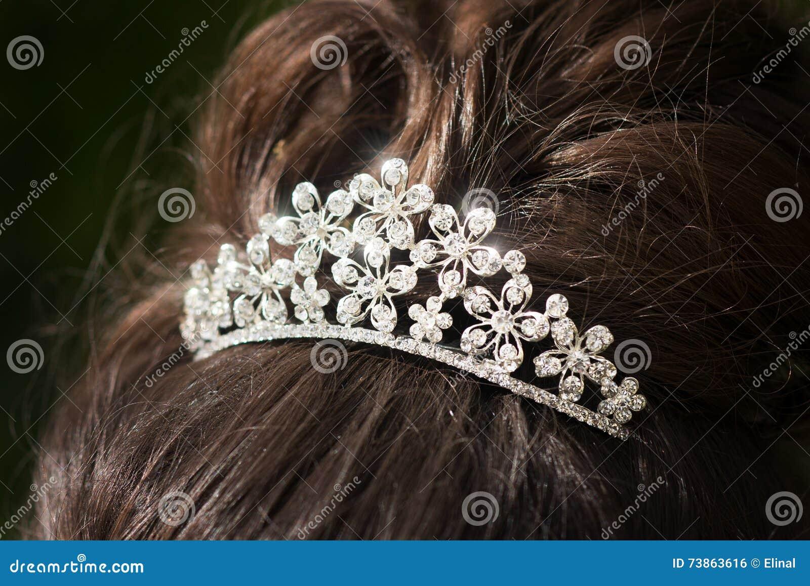 Tiara do casamento, diadema Cristais decorados glamour