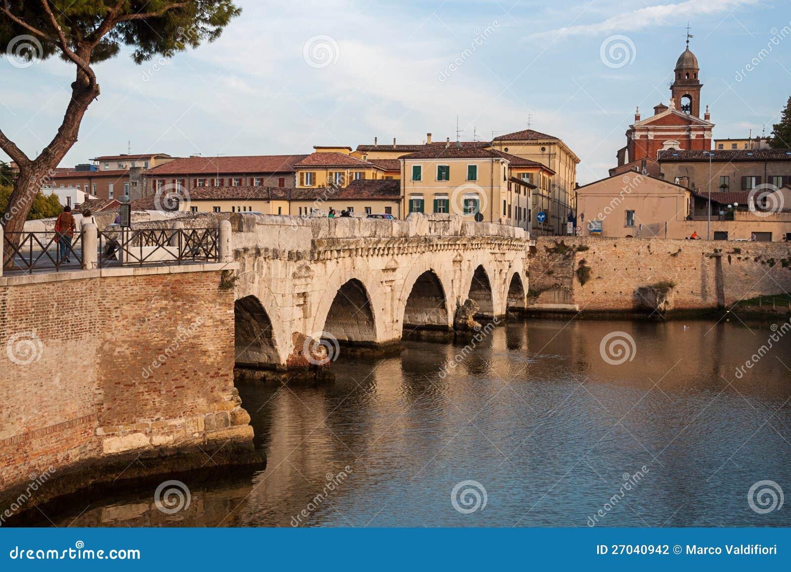Tiberius  dziejowy rzymski most