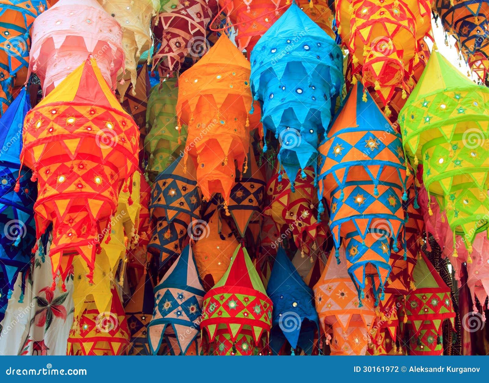 Tibet Color Chandelier Stock Photo Image Of Bright