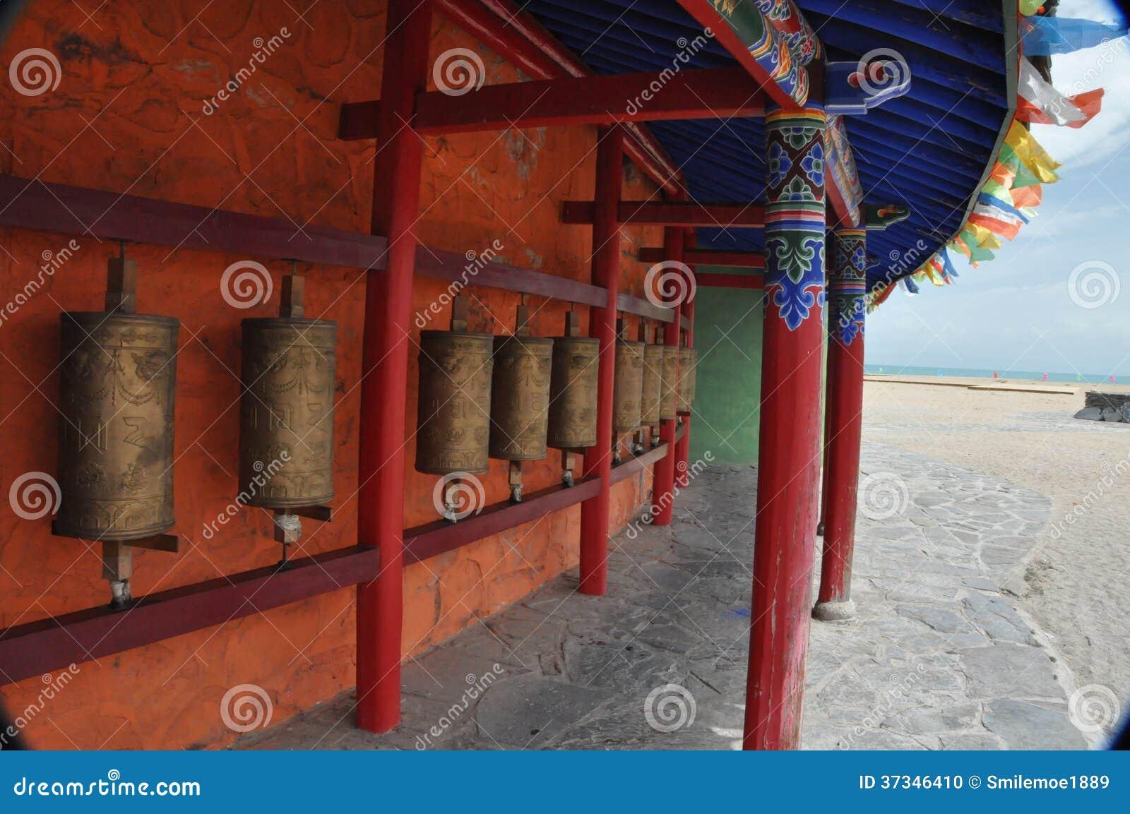 Tibet draait de vaten