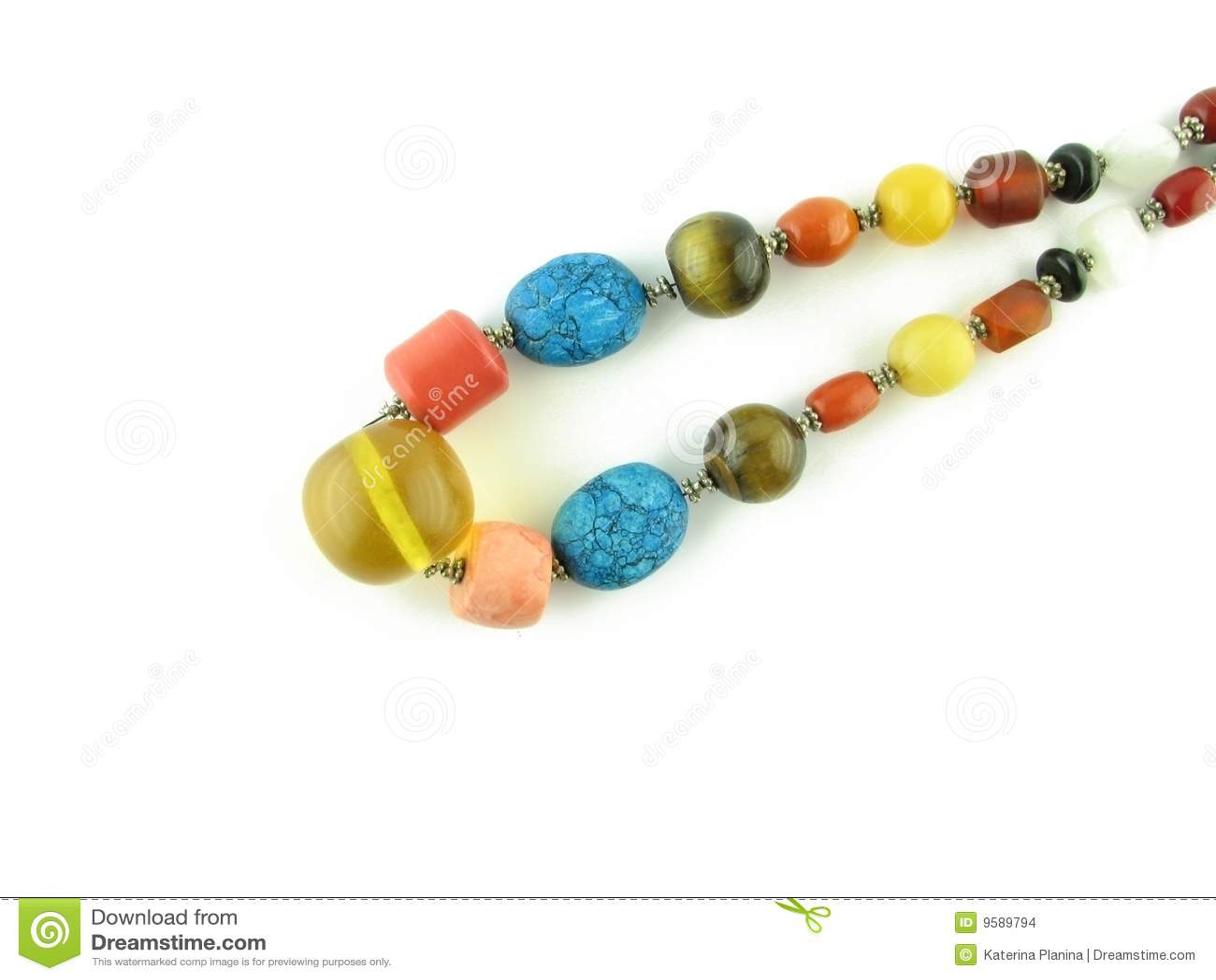 The Tibetan beads