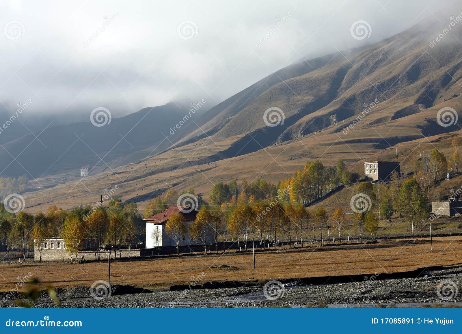 Tibetan dorp