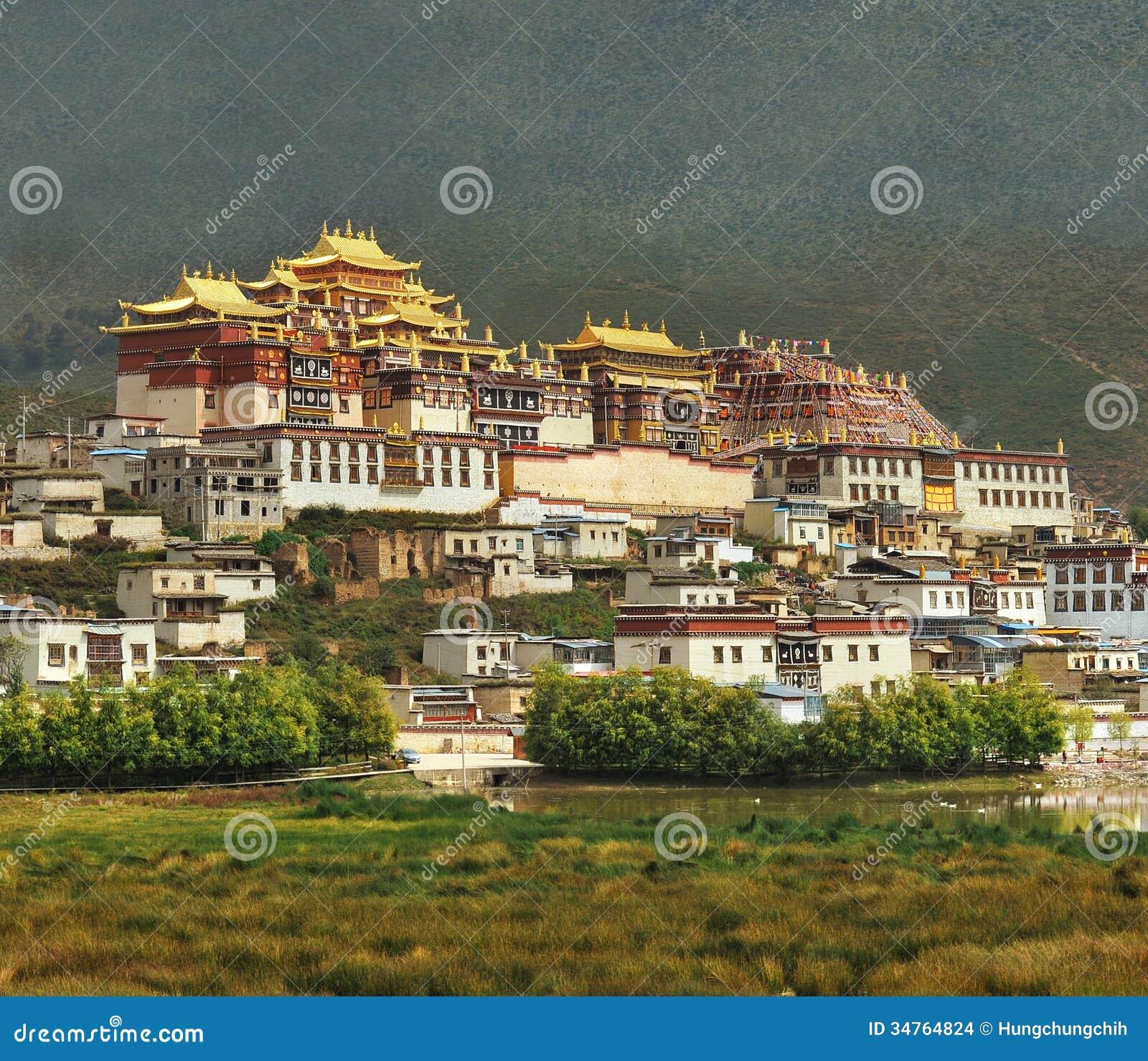 tibetan monastery high resolution #oC9J