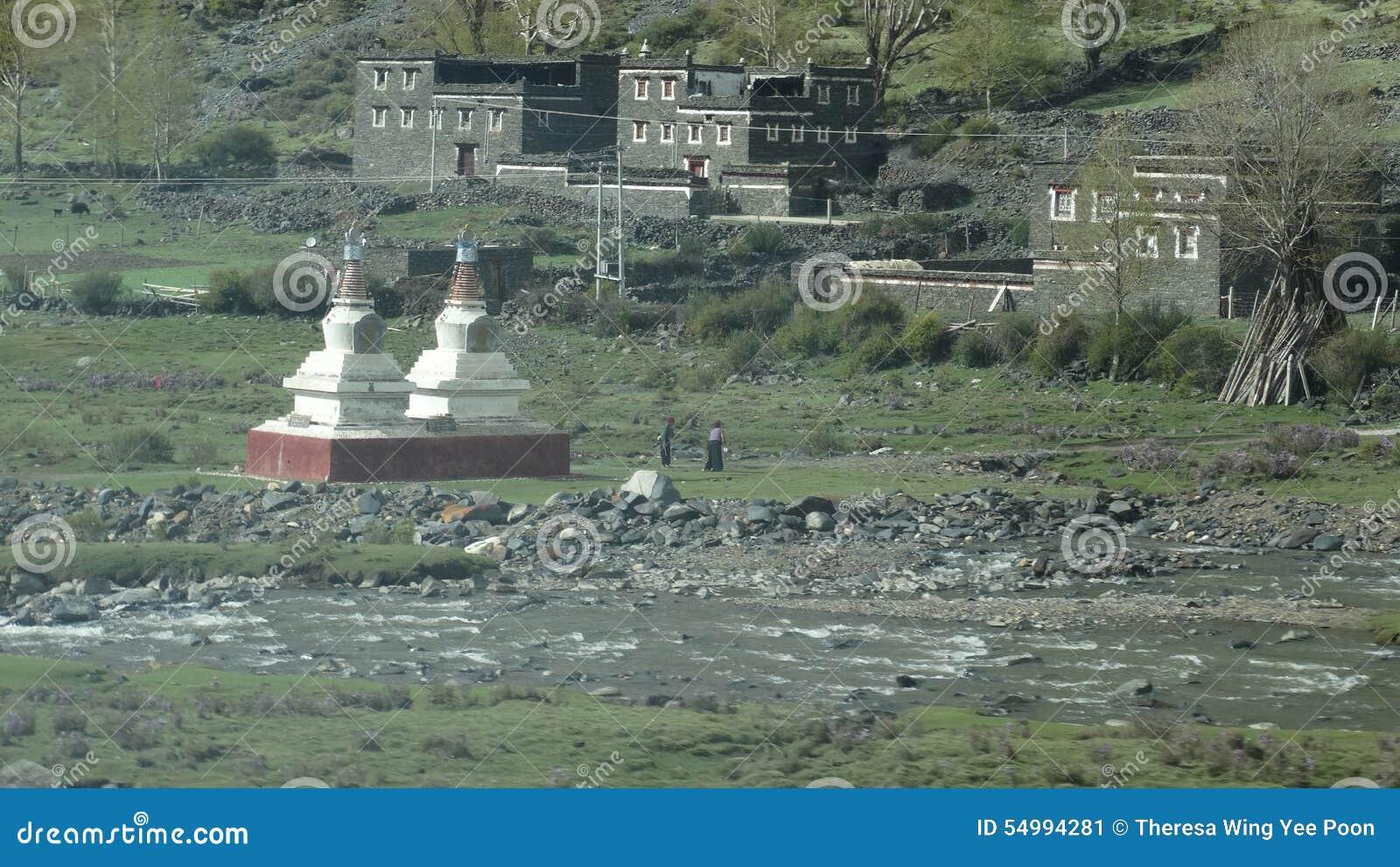 Tibetana by- och dyrkantorn