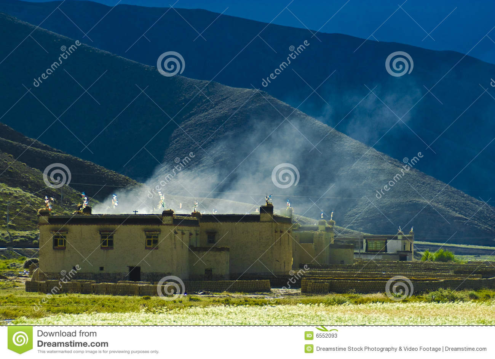 Tibetanisches Haus