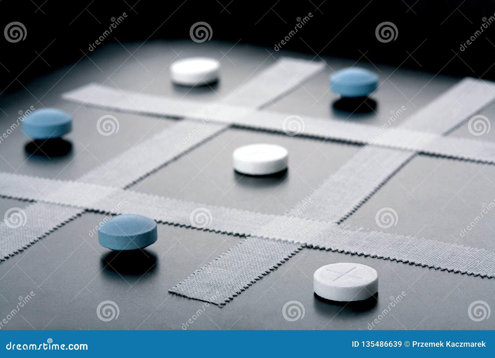 Tic Tac Toe, juego médico