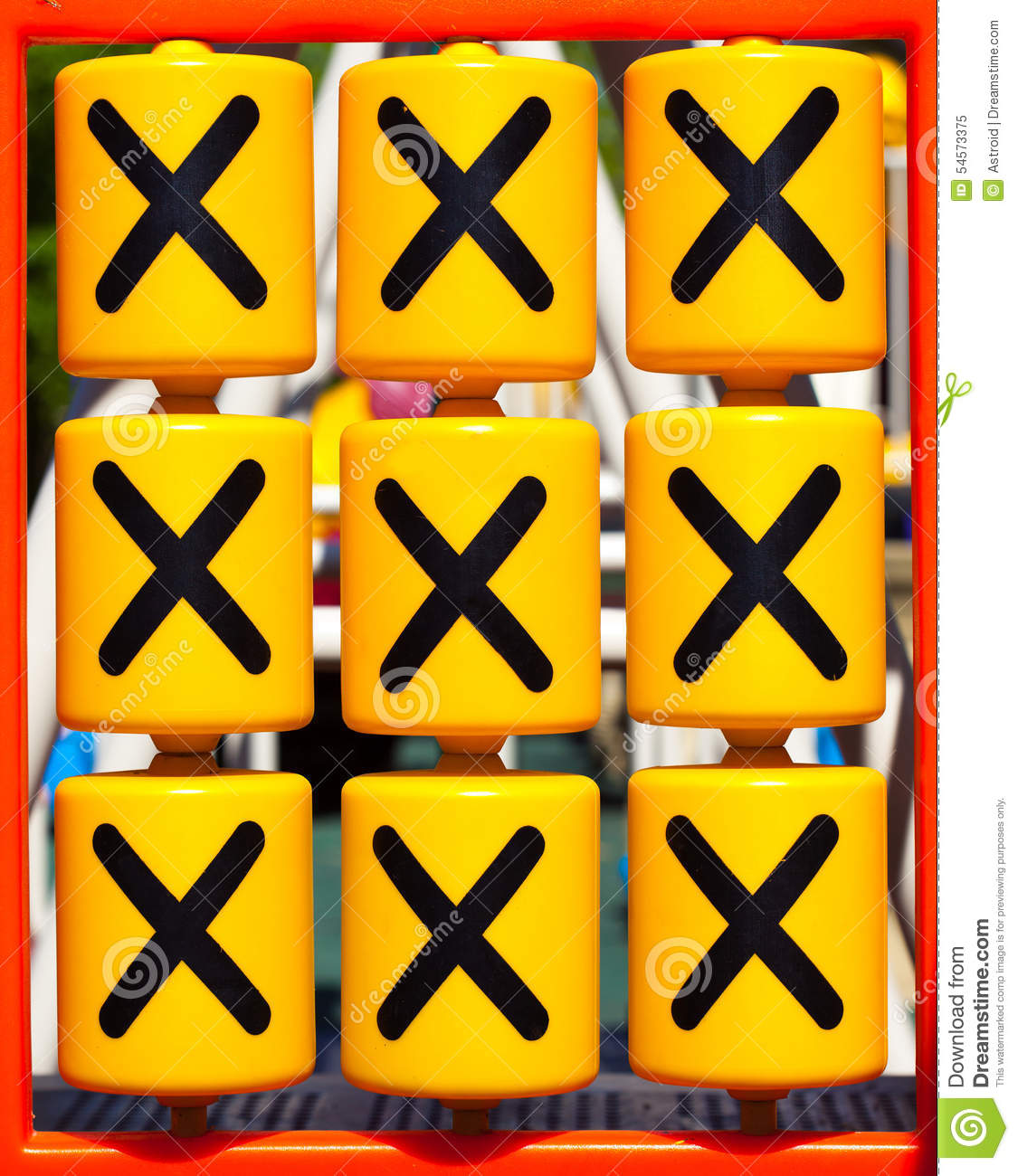 Tic Tac Toe XO Game Stock Photo - Image: 54573375