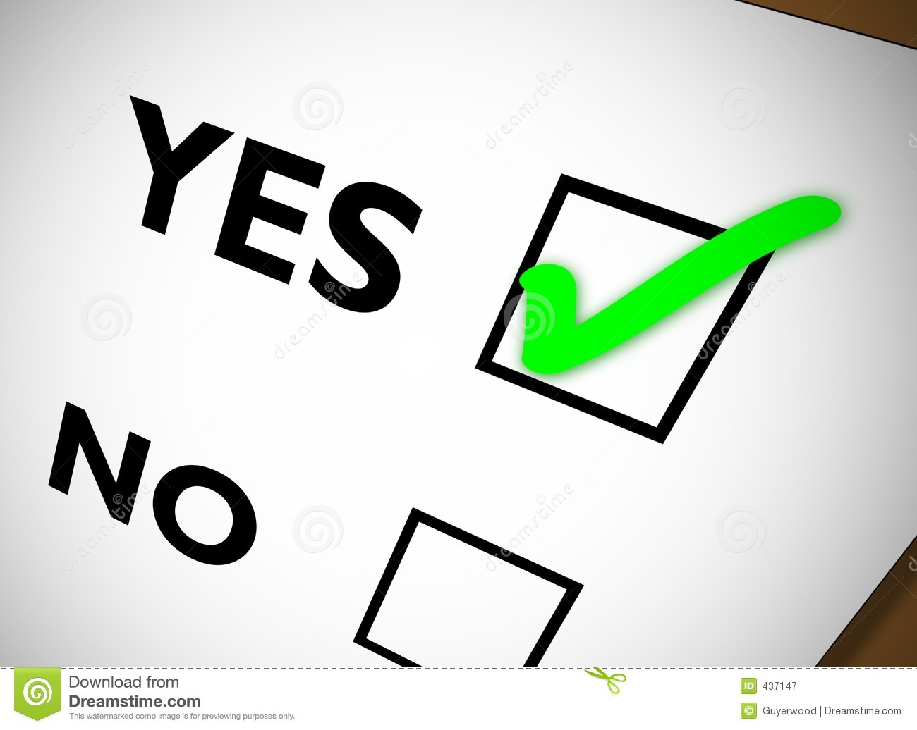 free clipart vote yes - photo #5
