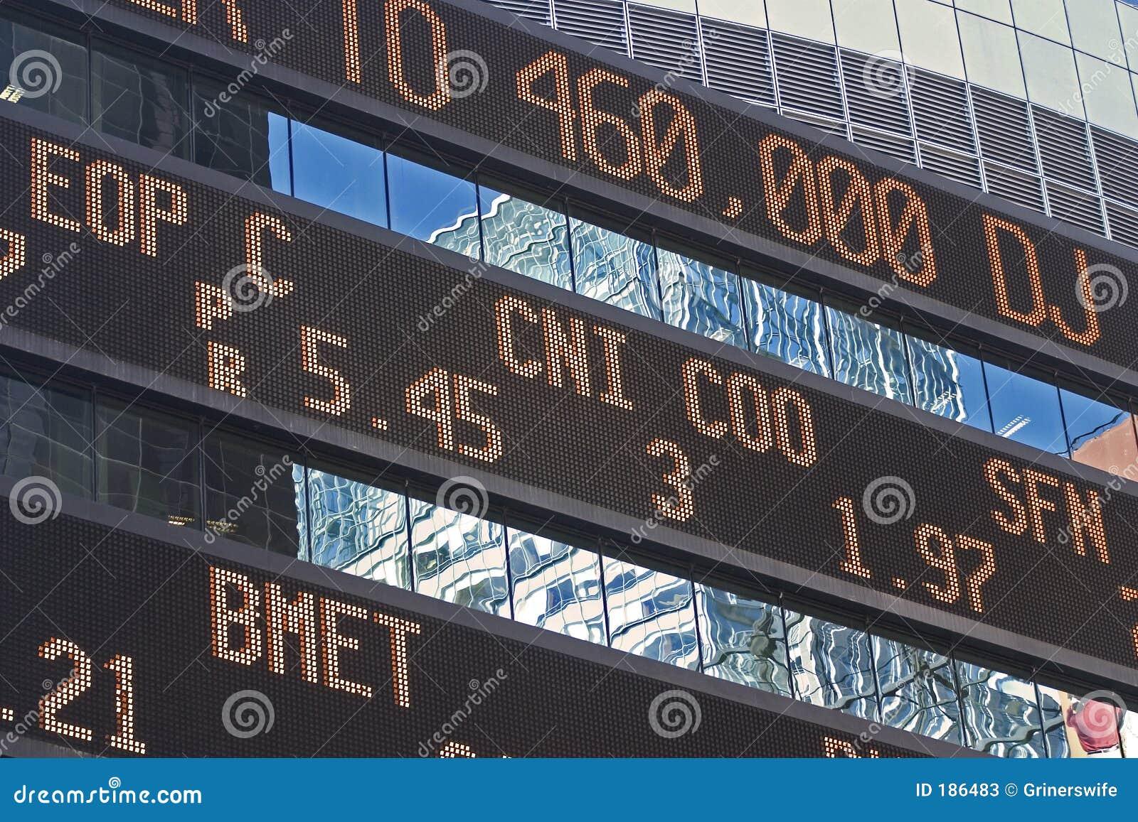 Ticker van de Effectenbeurs
