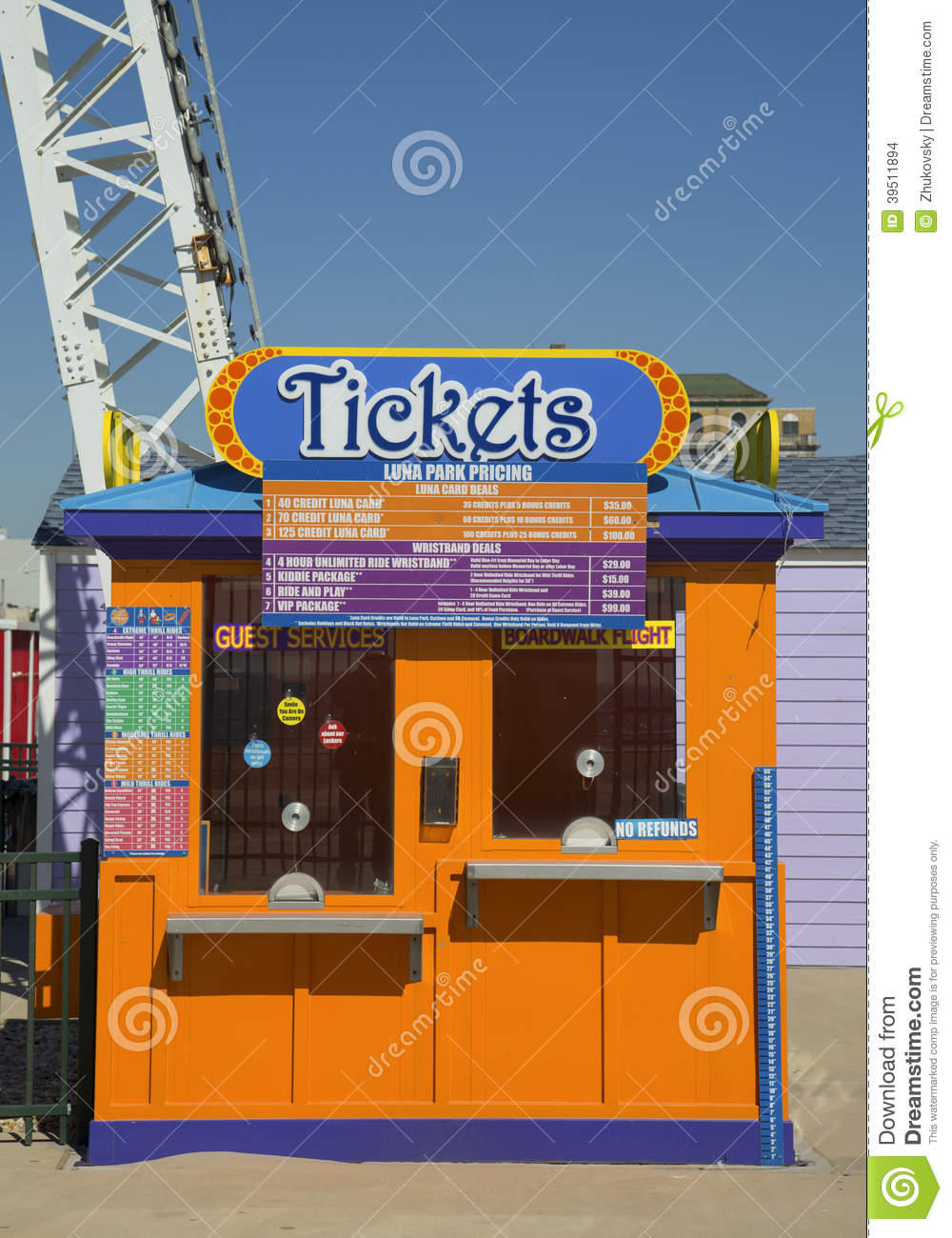 ticket booth at coney island luna park in brooklyn movie ticket clip art carnival movie ticket clip art free