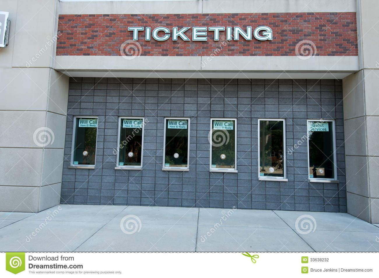 Msu Ticket Booth Editorial Photography Image Of Entrance