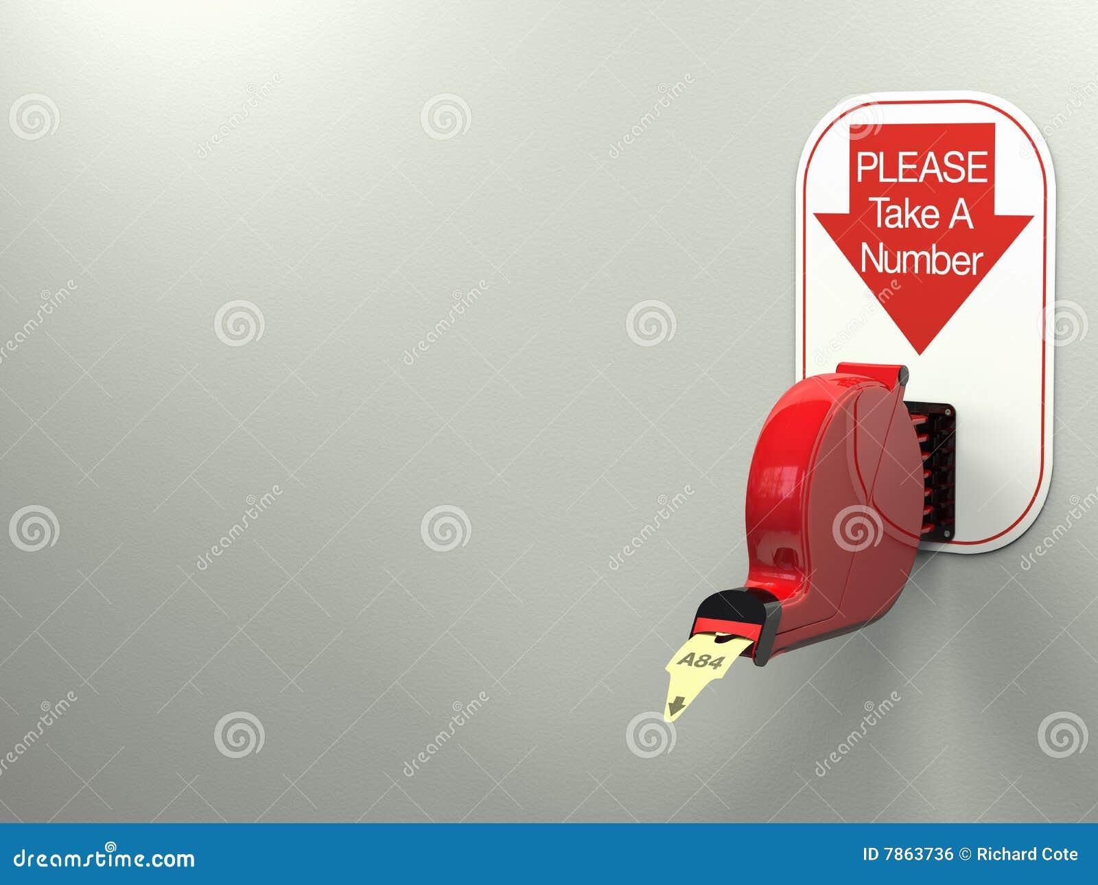 ticket dispenser royalty free stock image image 7863736