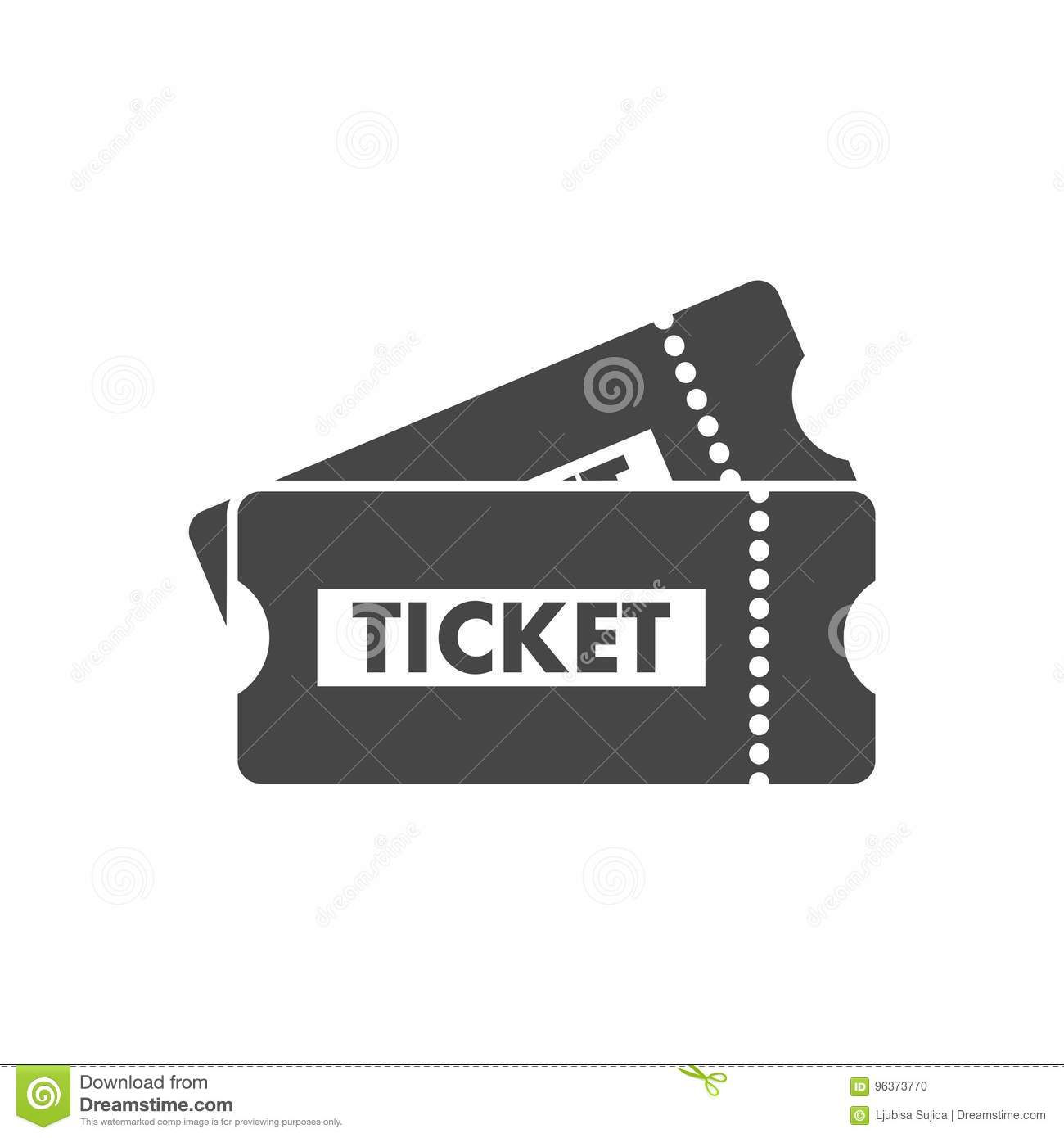 ticket cartoons  illustrations  u0026 vector stock images