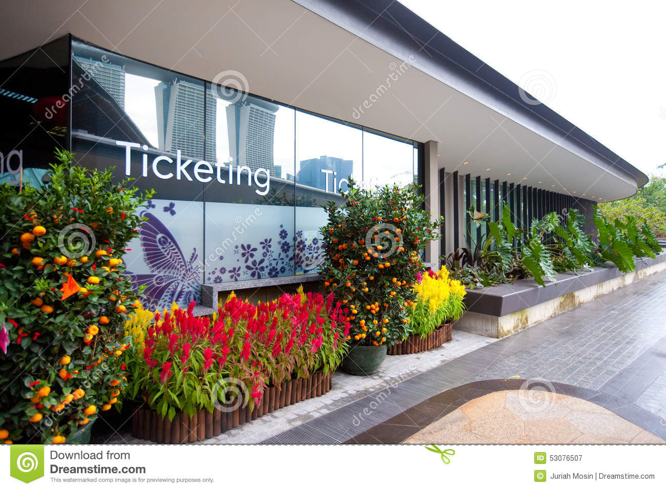 Ticketing Office For The Gardens By The Bay, Singapore